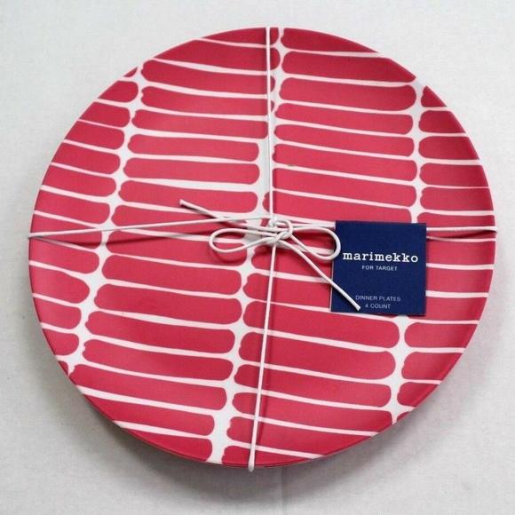 Marimekko Other - Marimekko x Target 4-Ct Dinner Plates Okariino